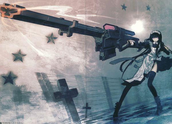 Maid Gunner - Black★Rock Shooter