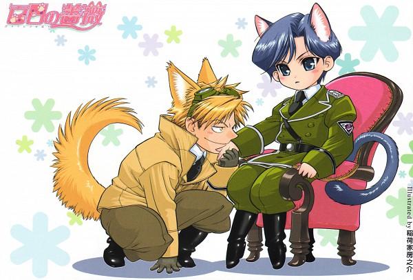 Tags: Anime, Inariya Fusanosuke, Maiden Rose, Klaus von Wolfstadt, Taki Reizen, Official Art