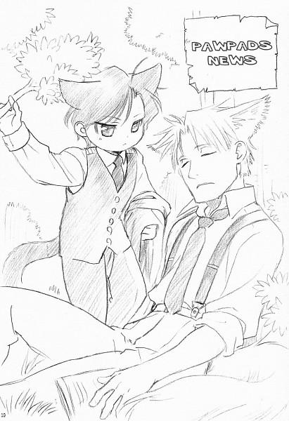 Tags: Anime, Maiden Rose, Taki Reizen, Klaus von Wolfstadt, Official Art