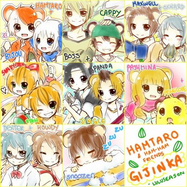 Maido-kun (Howdy (hamtaro)) - Tottoko Hamtarou