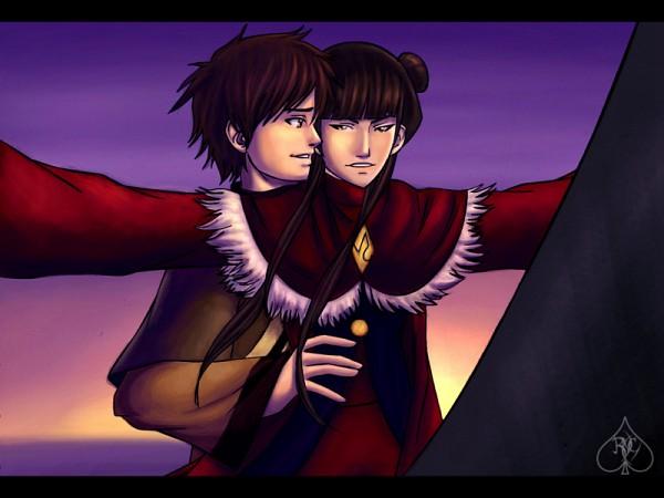 Tags: Anime, Avatar: The Last Airbender, Mai (Avatar: The Last Airbender), Zuko, Movie Parody, Titanic (Parody), Maiko (Avatar Couple)