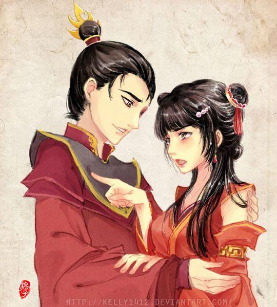 Tags: Anime, Kellylee, Avatar: The Last Airbender, Zuko, Mai (Avatar: The Last Airbender), deviantART, Pixiv, Fanart, Maiko (Avatar Couple)