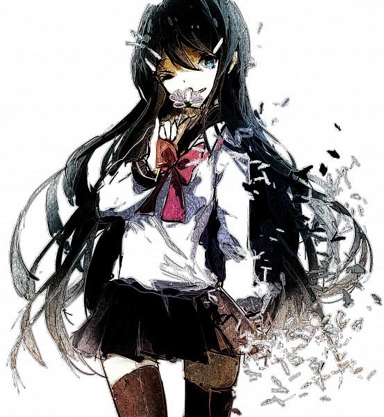 Tags: Anime, Prophet (Artist), Danganronpa, Maizono Sayaka, Pixiv, Fanart, Fanart From Pixiv