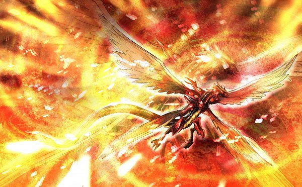 Majestic Red Dragon - Yu-Gi-Oh! 5D's