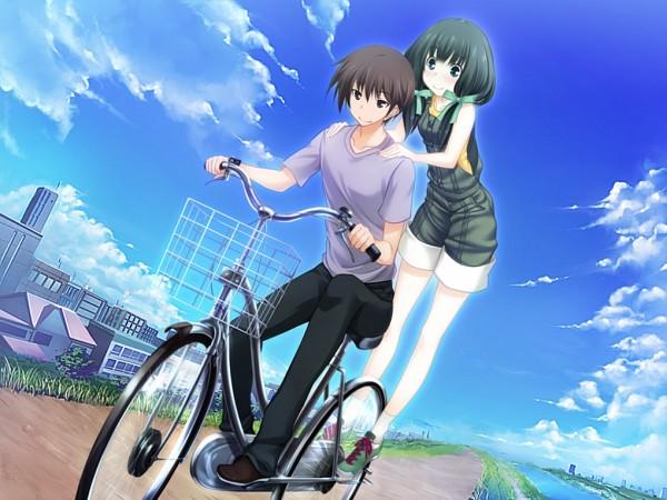 Tags: Anime, Kawagishi Keitarou, Minato Soft, Maji de Watashi ni Koi Shinasai!, Mayuzumi Sayaka, Naoe Yamato, CG Art, Do Love Me Seriously!