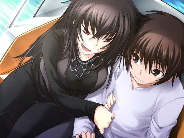Tags: Anime, Kawagishi Keitarou, Minato Soft, Maji de Watashi ni Koi Shinasai!, Kawakami Momoyo, Naoe Yamato, CG Art, Do Love Me Seriously!