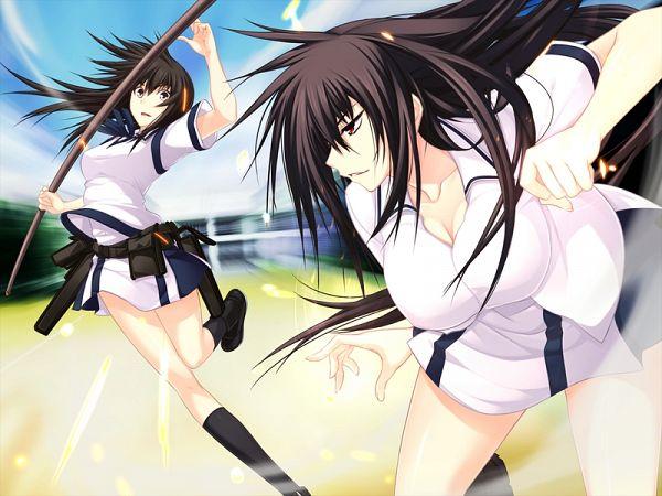 Tags: Anime, Kawagishi Keitarou, Minato Soft, Maji de Watashi ni Koi Shinasai!, Kawakami Momoyo, Matsunaga Tsubame, CG Art, Do Love Me Seriously!