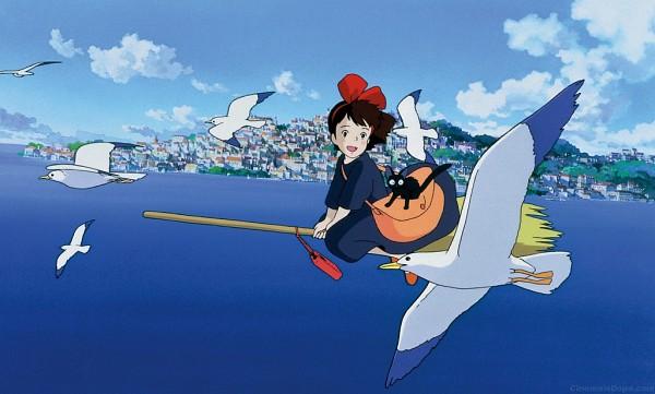 Majo no Takkyuubin (Kiki's Delivery Service) - Studio Ghibli