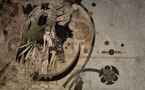 Tags: Anime, SOUL EATER, Soul Eater Evans, Maka Albarn, Soul Eater Evans (Weapon Form), Wallpaper