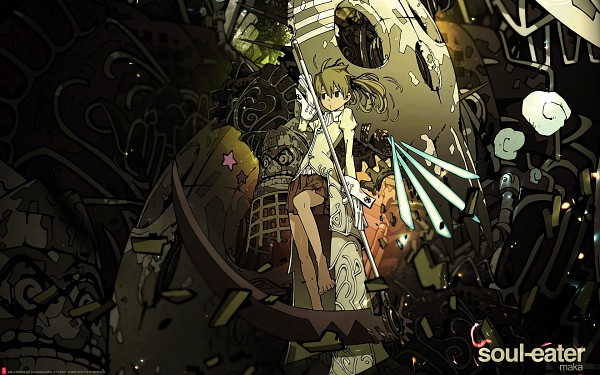 Tags: Anime, SQUARE ENIX, SOUL EATER, Maka Albarn, Wallpaper