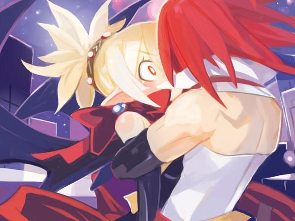Tags: Anime, Harada Takehito, Nippon Ichi Software, Makai Senki Disgaea, Adell, Rozalin, Official Art, Netherworld Battle Chronicle Disgaea