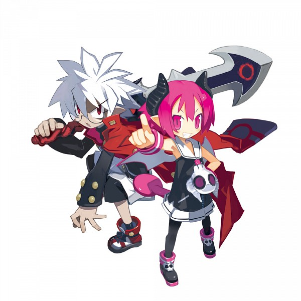 Tags: Anime, Harada Takehito, Nippon Ichi Software, Makai Senki Disgaea, Raspberyl, Mao (Disgaea), Official Art, Netherworld Battle Chronicle Disgaea