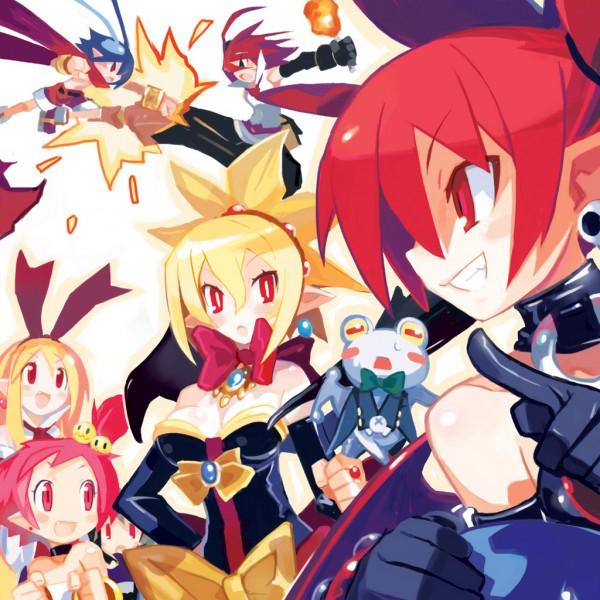 Tags: Anime, Harada Takehito, Makai Senki Disgaea, Hanako (Disgaea), Etna, Tink, Rozalin, Adell, Flonne, Laharl, Netherworld Battle Chronicle Disgaea