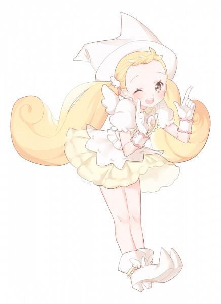 Tags: Anime, Pixiv Id 8571893, Ojamajo DoReMi, Makihatayama Hana, Fanart From Pixiv, Fanart, PNG Conversion, Pixiv, Mobile Wallpaper