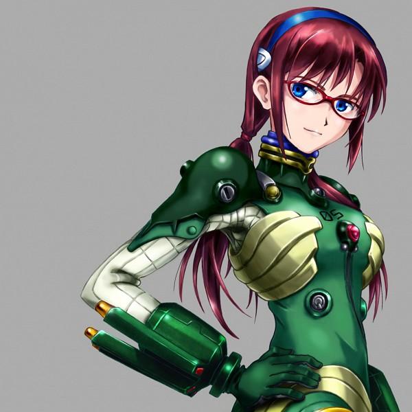 Tags: Anime, Paje, Neon Genesis Evangelion, Makinami Mari Illustrious, Fanart, Fanart From Pixiv, Pixiv