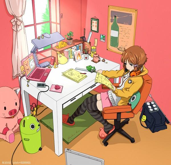 Tags: Anime, Kanau, Tamako Market, Makino Kanna, Trash