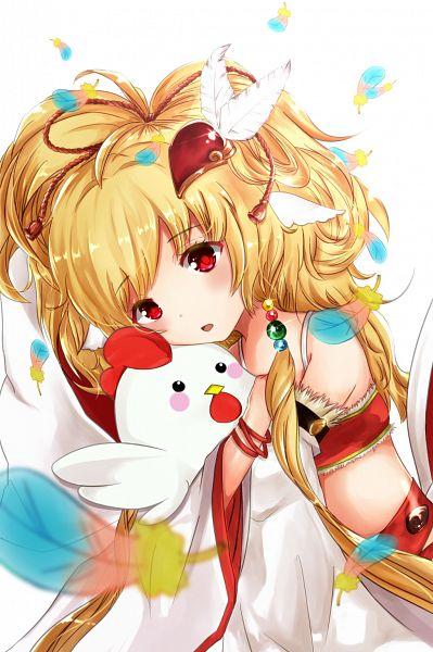 Tags: Anime, Pixiv Id 2663116, Granblue Fantasy, Makira (Granblue Fantasy), Chicken, Mahira (granblue Fantasy)