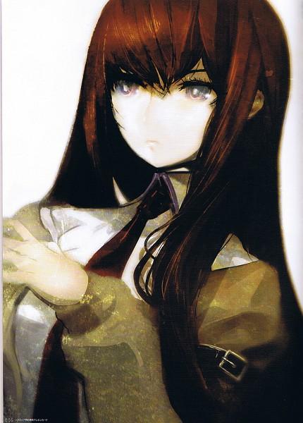 Tags: Anime, Huke, Steins;Gate, Makise Kurisu, Scan, Pixiv, Mobile Wallpaper, Official Art