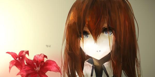 Tags: Anime, Moemoe3345, Steins;Gate, Makise Kurisu, Fanart From Pixiv, Fanart, Facebook Cover, Pixiv