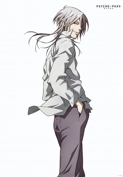 Tags: Anime, PSYCHO-PASS, Makishima Shougo, Mobile Wallpaper, Official Art, Scan