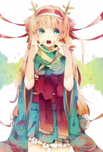 Tags: Anime, Makishimu, Pixiv, Original, Mobile Wallpaper, Happy 2012