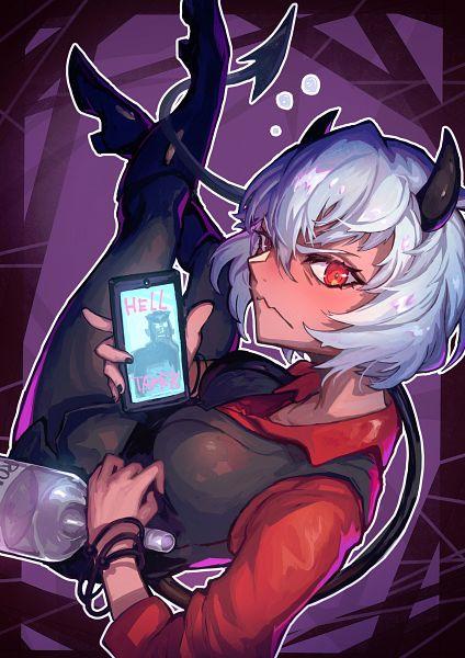 Tags: Anime, Pixiv Id 4355382, Helltaker, Helltaker (Character), Malina (Helltaker), Fanart From Pixiv, Pixiv, Fanart
