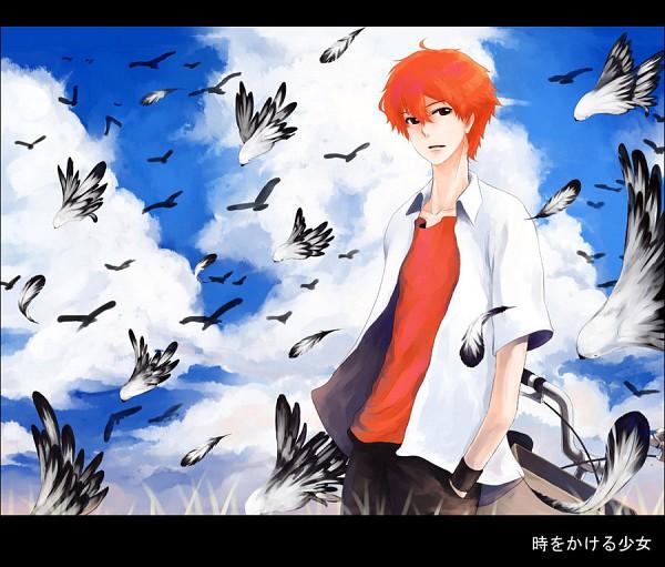 Tags: Anime, Littledog (Artist), Toki wo Kakeru Shoujo, Mamiya Chiaki, deviantART