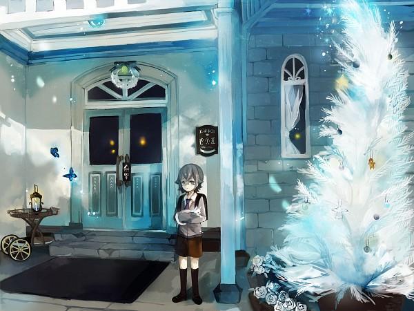 Tags: Anime, Pixiv Id 2702172, Inazuma Eleven GO Galaxy, Inazuma Eleven GO, Manabe Jinichirou, Christmas Tree, Wallpaper, Fanart From Pixiv, Fanart, PNG Conversion, Pixiv