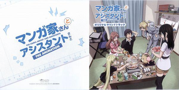Tags: Anime, ZEXCS, Mangaka-san to Assistant-san to, Fuwa Rinna, Aito Yuuki, Kuroi Sena, Otosuna Mihari, Ashisu Sahoto, Branya (Mangaka-san to Assistant-san to), Wallpaper, CD (Source), Official Art, Scan