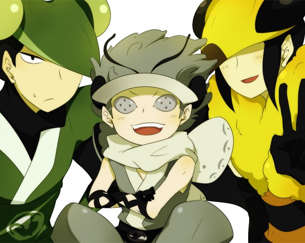 Tags: Anime, Katanagatari, Maniwa Kamakiri, Maniwa Chouchou, Maniwa Mitsubachi, Maniwani