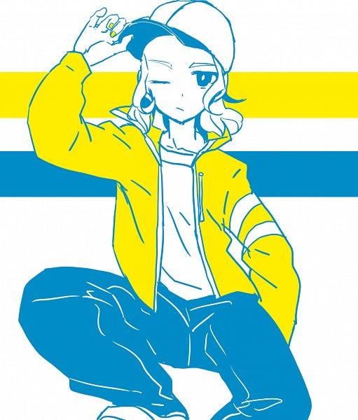Mansaku Yuuichirou (Trevor Cook) - Inazuma Eleven: Ares no Tenbin