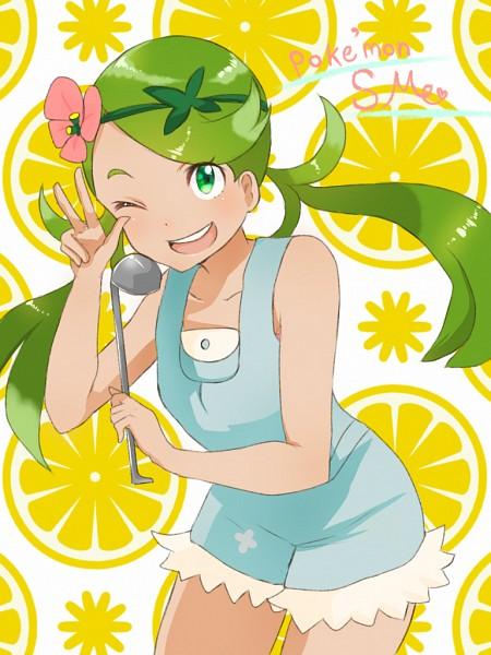Tags: Anime, Pixiv Id 17918679, Pokémon Sun & Moon, Pokémon, Mao (Pokémon), Fanart, Fanart From Pixiv, PNG Conversion, Mobile Wallpaper, Pixiv