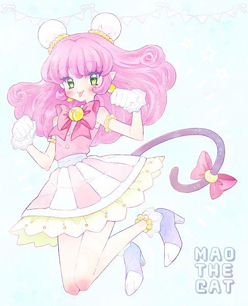 Tags: Anime, Pixiv Id 23770835, Star☆Twinkle Precure, Yuni (Precure), Mao (Precure), Fanart From Pixiv, Pixiv, Fanart