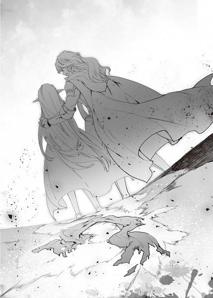 Tags: Anime, COMTA, Maou no Ore ga Dorei Elf wo Yome ni Shitandaga dou Mederebaii?, Official Art, Character Request, Novel Illustration