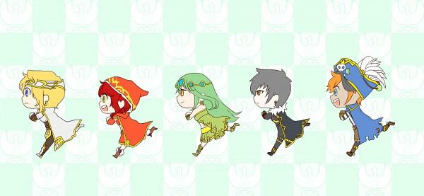 Tags: Anime, KONAMI (Studio), Nexon, MapleStory, beatmania, Beatmania IIDX, Hawkeye (Maple Story), Irena (Maple Story), Eckhart (Maple Story), Mihile (Maple Story), Oz (Maple Story), Knight, Smooooch・∀・