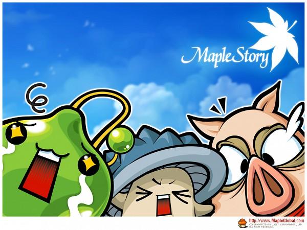 Tags: Anime, Nexon, MapleStory, Slime, Wallpaper