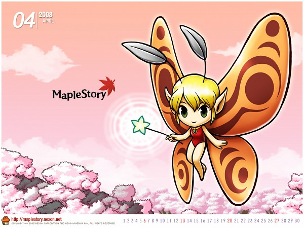 Tags: Anime, Nexon, MapleStory, Star Wand, Wallpaper