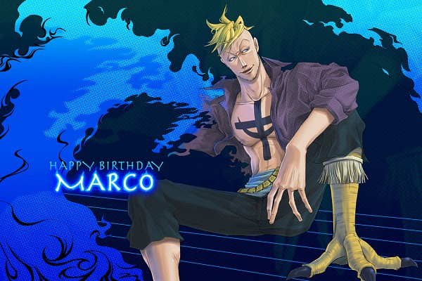 Tags: Anime, Pixiv Id 237131, ONE PIECE, Marco (ONE PIECE)