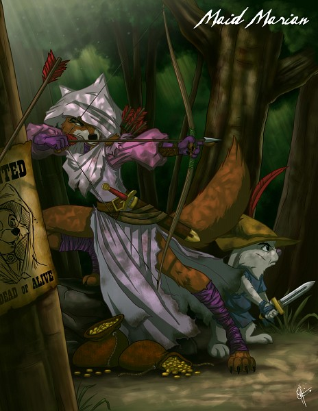 Marian - Robin Hood (Disney)