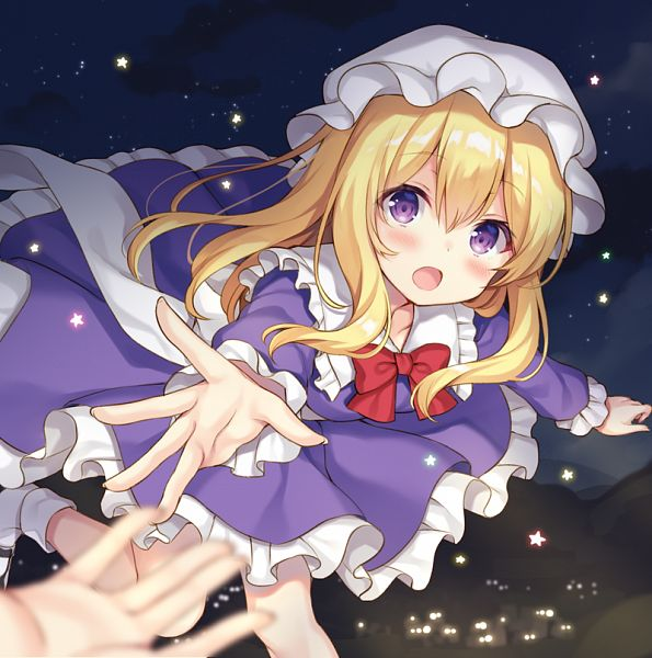 Tags: Anime, nagisa3710, Touhou, Maribel Hearn, Fanart From Tumblr, CD (Source), Fanart, Tumblr