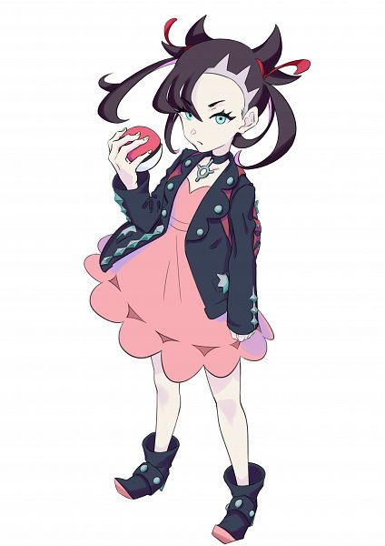 Tags: Anime, Pixiv Id 42980501, Pokémon Sword & Shield, Pokémon, Marie (Pokémon), Marnie (pokémon)