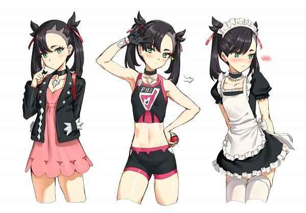 Tags: Anime, Pixiv Id 2191611, Pokémon Sword & Shield, Pokémon, Marie (Pokémon), Marnie (pokémon)
