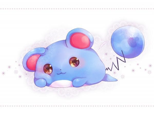 Tags: Anime, Pixiv Id 4411474, Pokémon, Marill, Fanart, Fanart From Pixiv, Pixiv