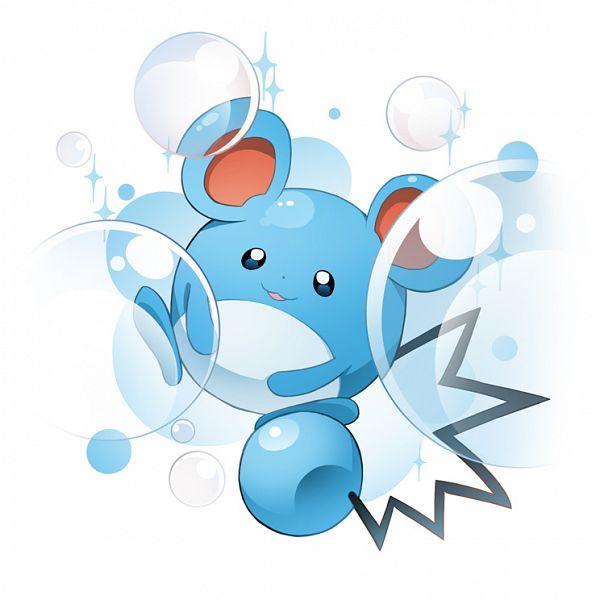 Tags: Anime, Zxyon2008, Pokémon, Marill, Fanart From Pixiv, Pixiv, Fanart