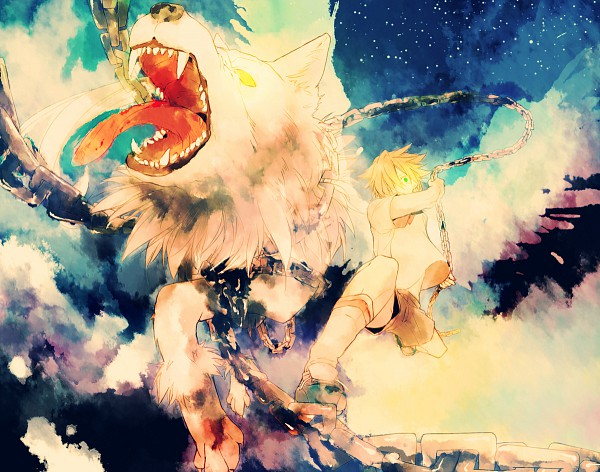 Tags: Anime, Maka Morphine, Inazuma Eleven, Mark Kruger, Pixiv, Fanart