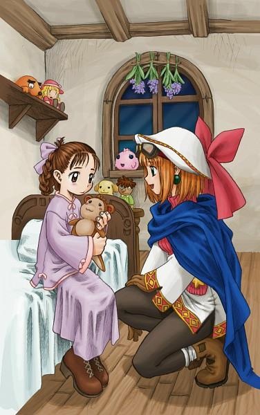 Tags: Anime, Nomura Ryouji, Nippon Ichi Software, Marl Kingdom, Cornet, Official Art