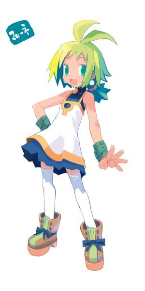 Tags: Anime, Harada Takehito, Nippon Ichi Software, Phantom Brave, Marona, Official Art