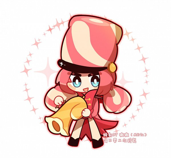 Tags: Anime, Mirta0704, Cookie Run: OvenBreak, Cookie Run, Marshmallow Cookie, Trumpet, deviantART, Fanart, Fanart From DeviantART