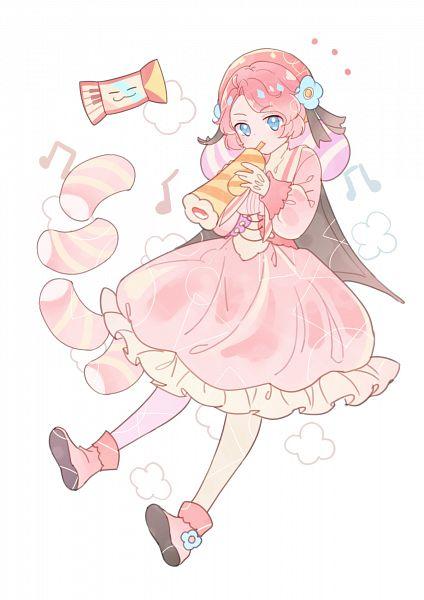 Tags: Anime, Pixiv Id 11373619, Cookie Run: OvenBreak, Discordeon, Marshmallow Cookie, Accordian, Trumpet, Fanart, Fanart From Pixiv, Pixiv