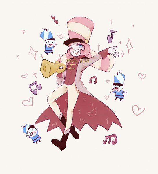 Tags: Anime, Pixiv Id 7599368, Cookie Run: OvenBreak, Cookie Run, Marshmallow Cookie, Trumpet, Fanart From Pixiv, Pixiv, Fanart